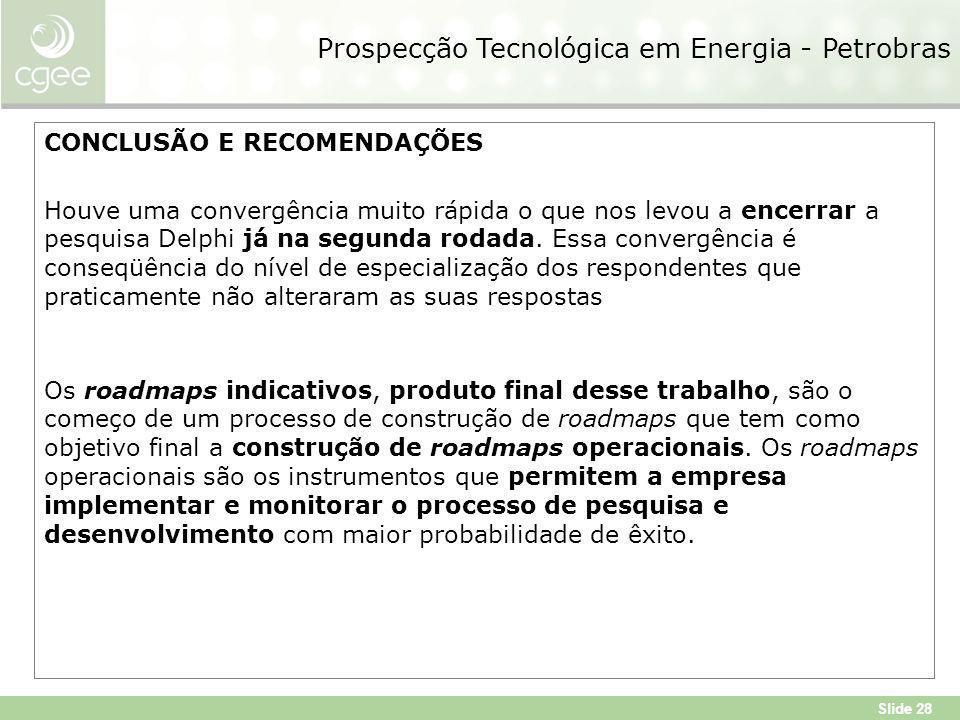 Prospecção Tecnológica em Energia - Petrobras