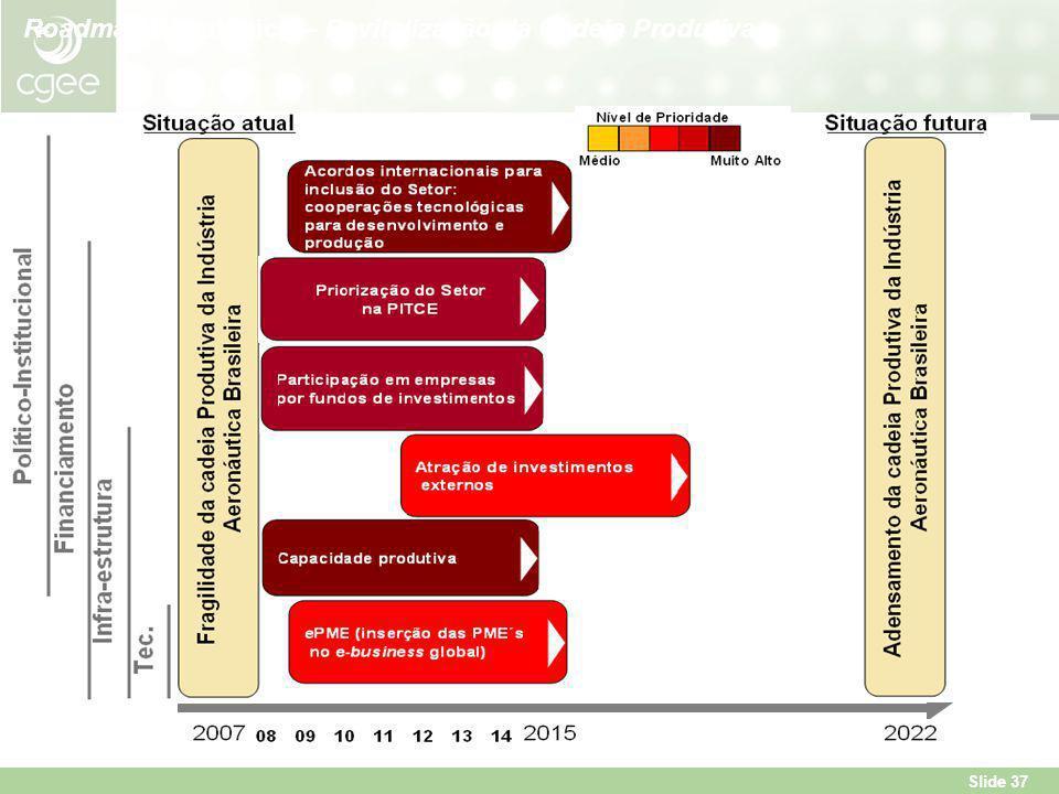 Roadmap Estratégico – Revitalização da Cadeia Produtiva