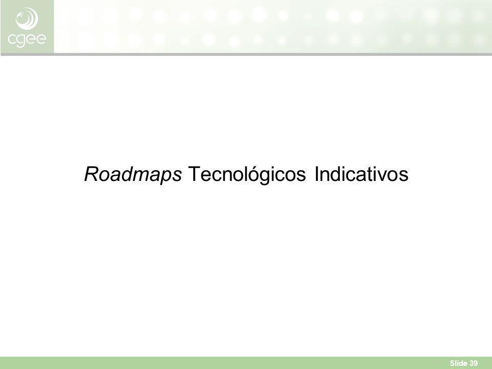Roadmaps Tecnológicos Indicativos