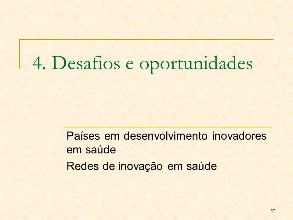 4. Desafios e oportunidades