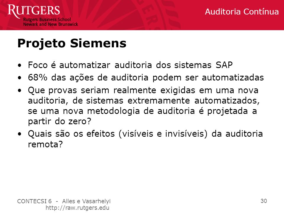 Projeto Siemens Foco é automatizar auditoria dos sistemas SAP