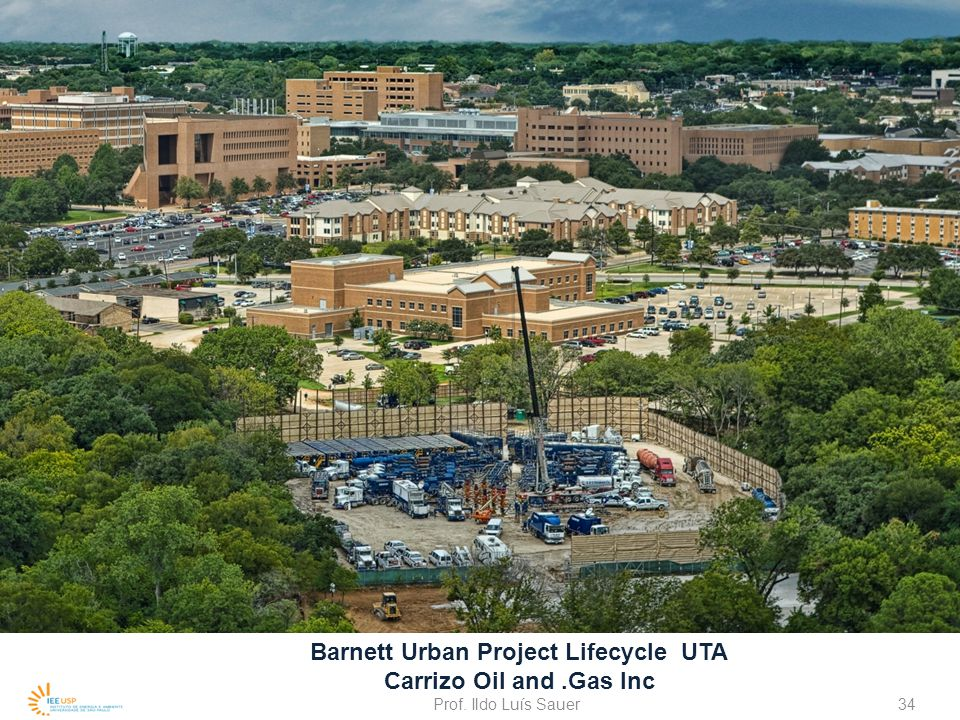 Barnett Urban Project Lifecycle UTA Carrizo Oil and .Gas Inc