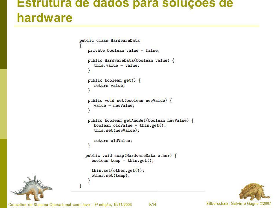 Estrutura de dados para soluções de hardware