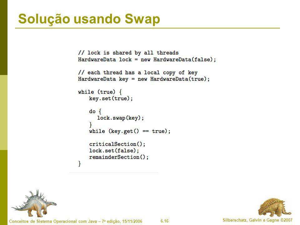 Solução usando Swap