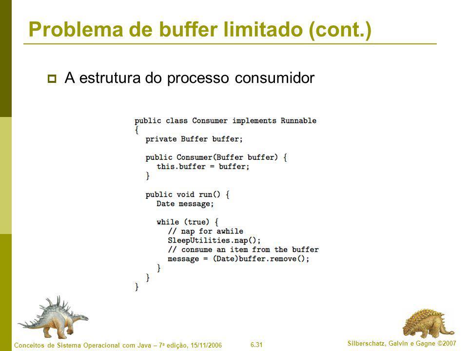 Problema de buffer limitado (cont.)