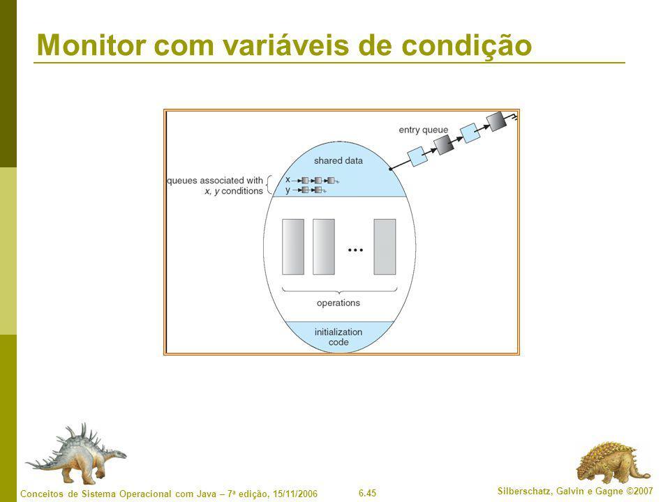 Monitor com variáveis de condição