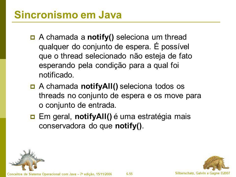 Sincronismo em Java