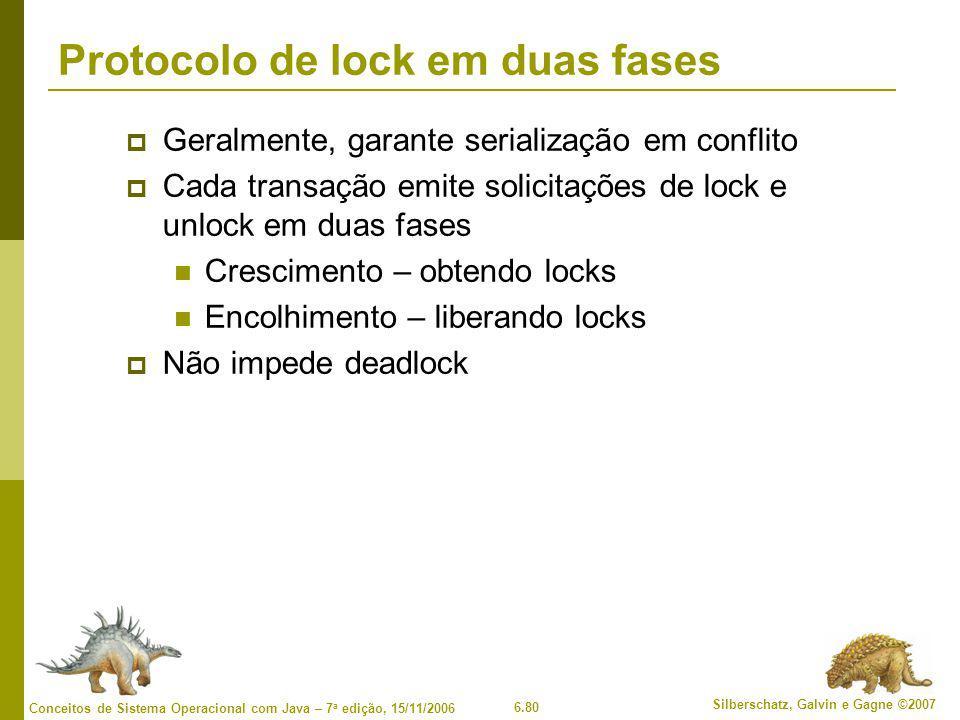 Protocolo de lock em duas fases