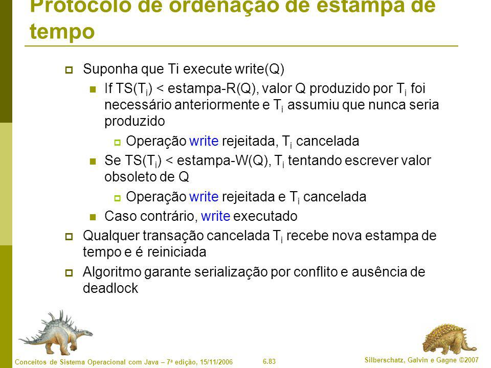 Protocolo de ordenação de estampa de tempo