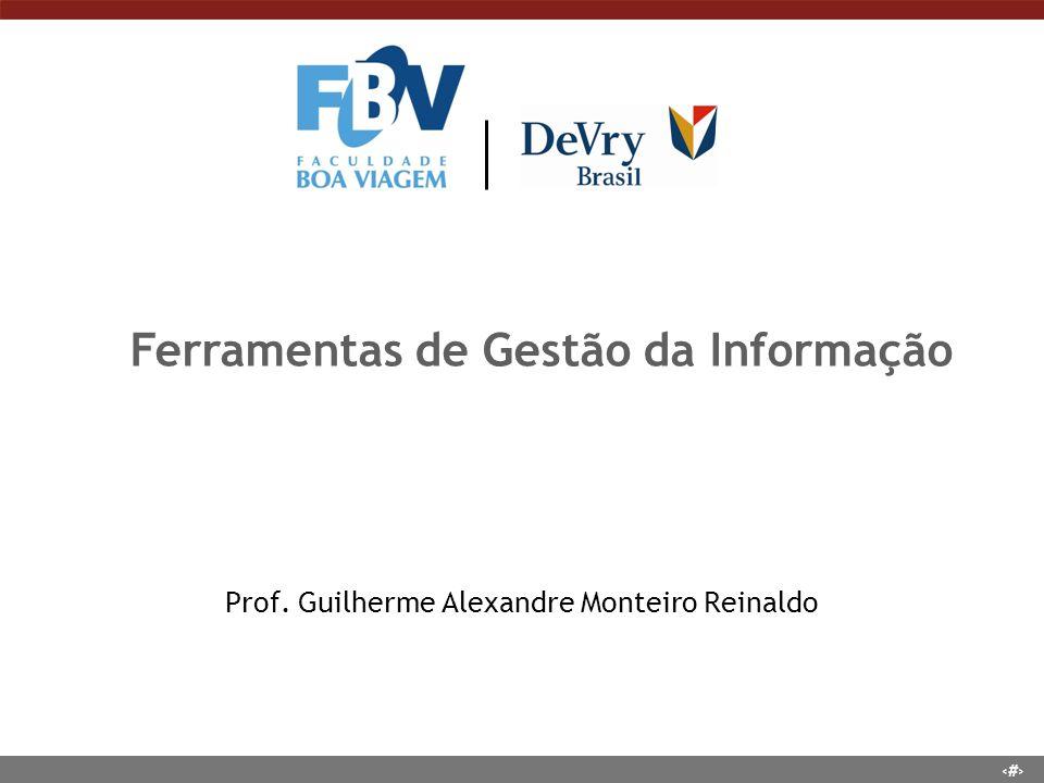 Prof. Guilherme Alexandre Monteiro Reinaldo