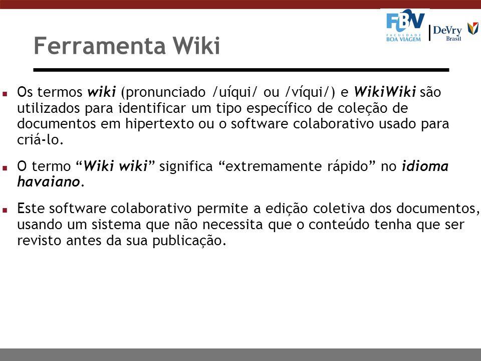 Ferramenta Wiki