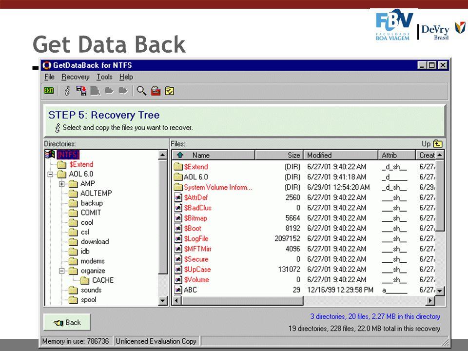 Get Data Back