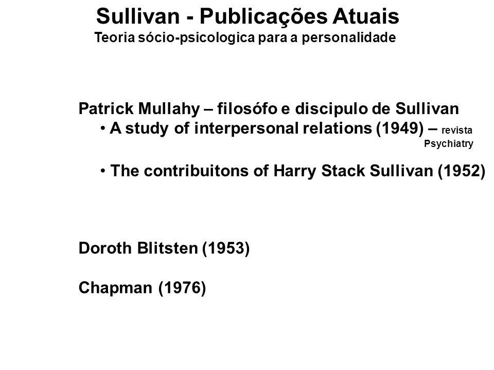 Sullivan - Publicações Atuais