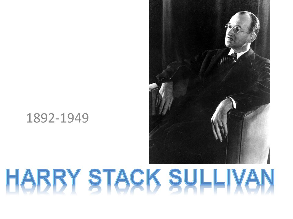 1892-1949 Harry stack sullivan