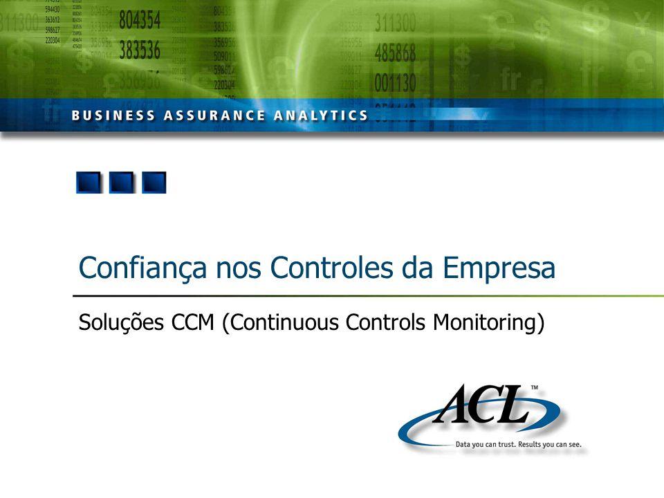 Confiança nos Controles da Empresa