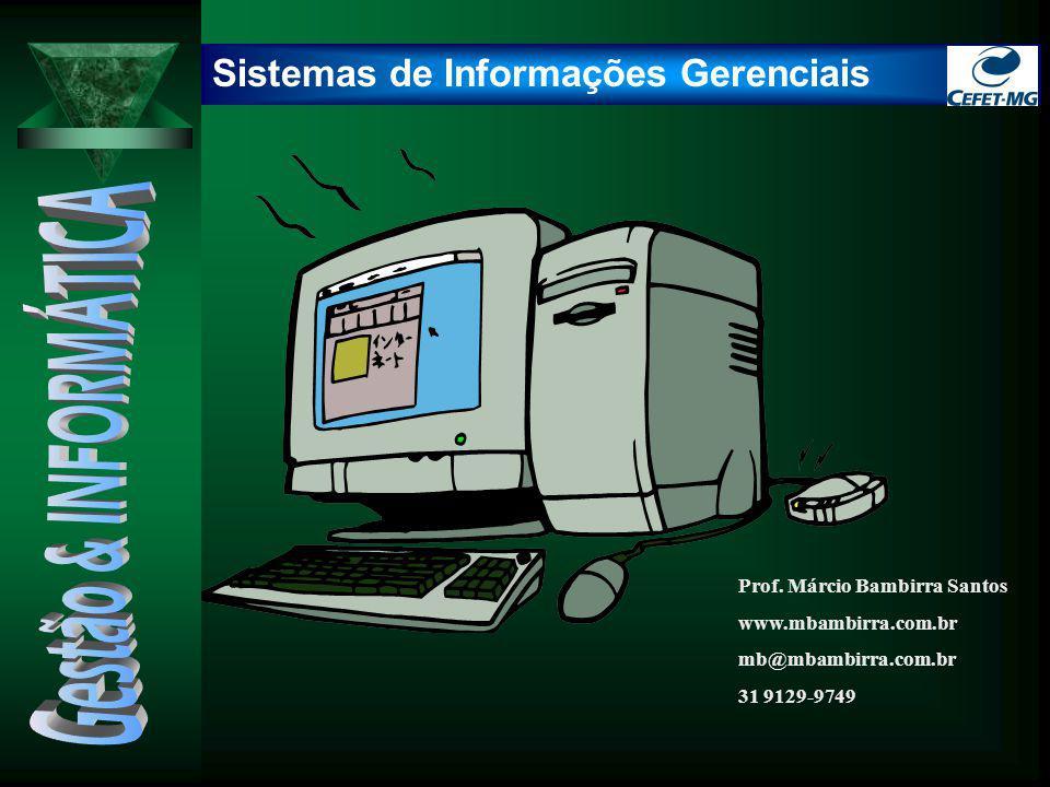 Gestão & INFORMÁTICA Sistemas de Informações Gerenciais