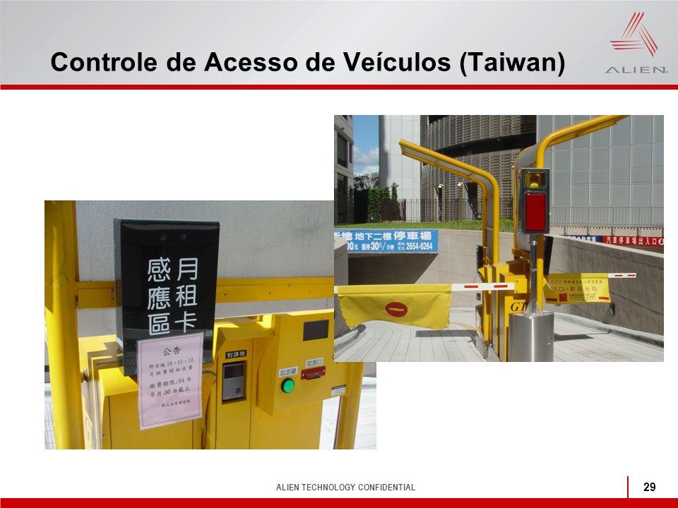Controle de Acesso de Veículos (Taiwan)