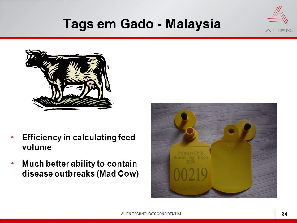 Tags em Gado - Malaysia Efficiency in calculating feed volume