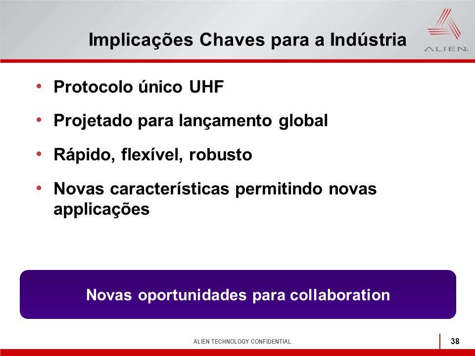 Implicações Chaves para a Indústria