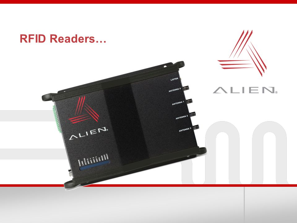 RFID Readers…