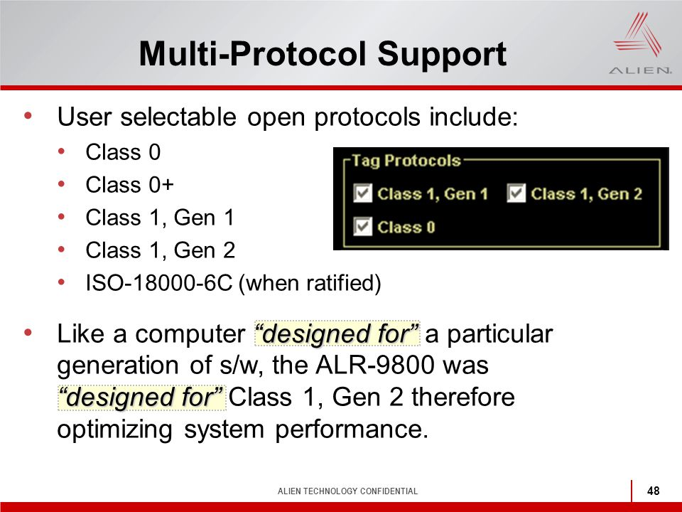 Multi-Protocol Support