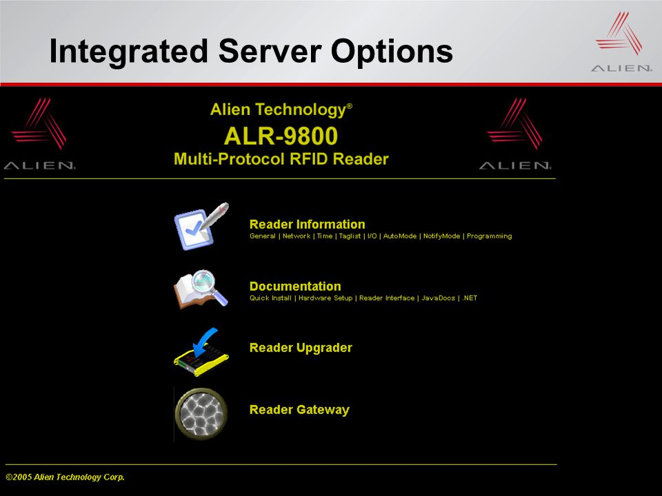Integrated Server Options