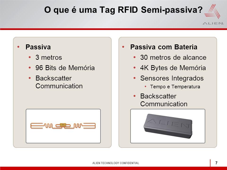 O que é uma Tag RFID Semi-passiva