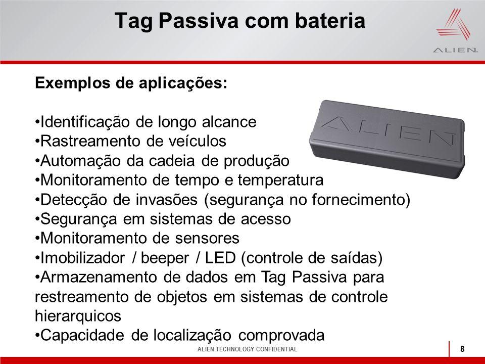 Tag Passiva com bateria