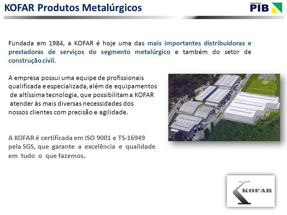 KOFAR Produtos Metalúrgicos