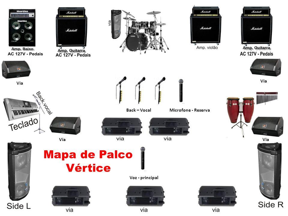 Mapa de Palco Vértice Via Via Back – Vocal Microfone - Reserva Via Via