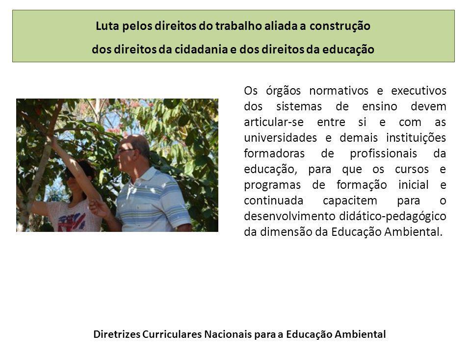 Diretrizes Curriculares Nacionais para a Educação Ambiental