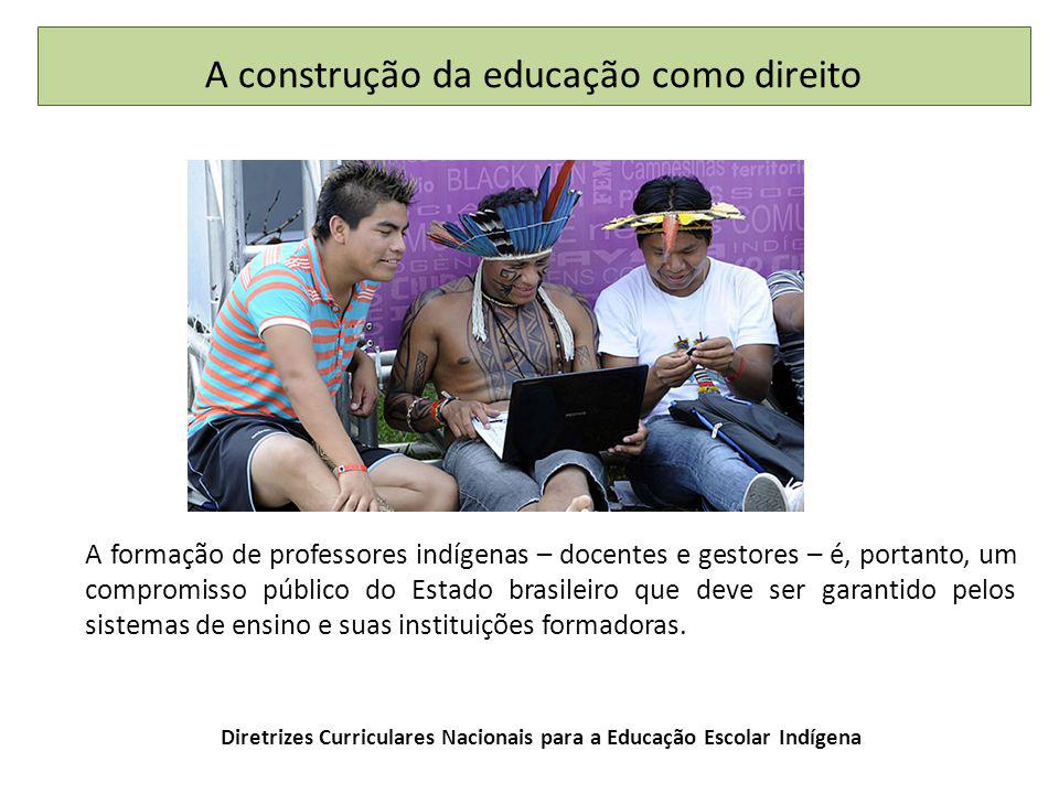 Diretrizes Curriculares Nacionais para a Educação Escolar Indígena