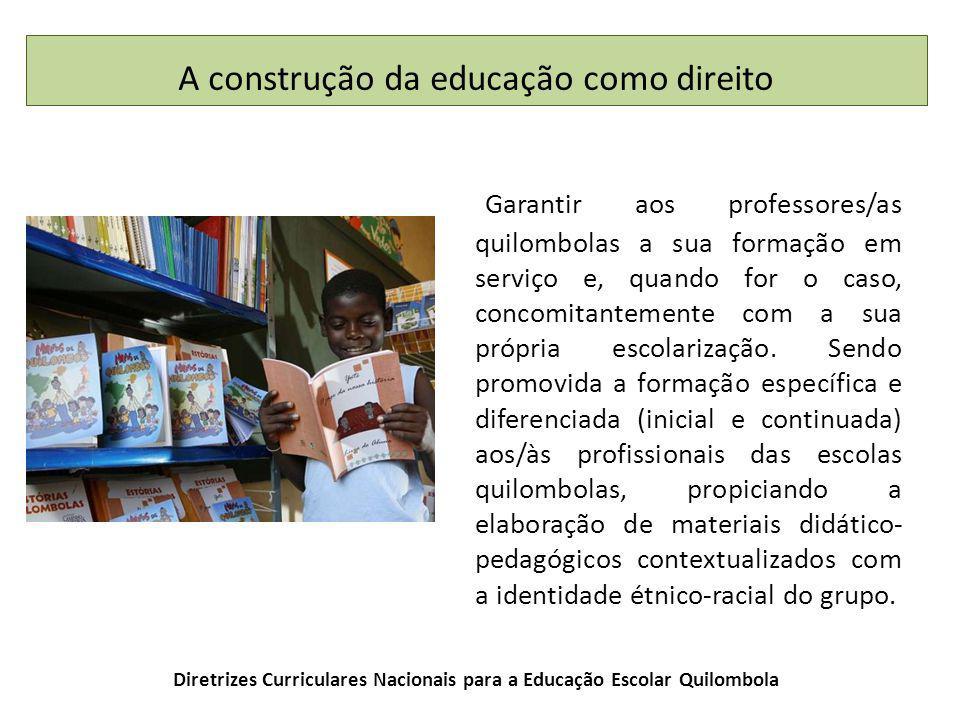 Diretrizes Curriculares Nacionais para a Educação Escolar Quilombola