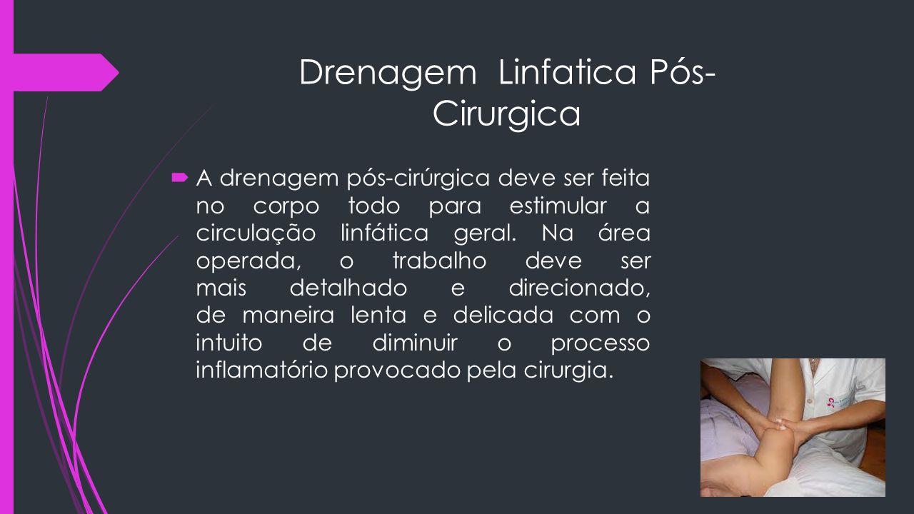 Drenagem Linfatica Pós- Cirurgica