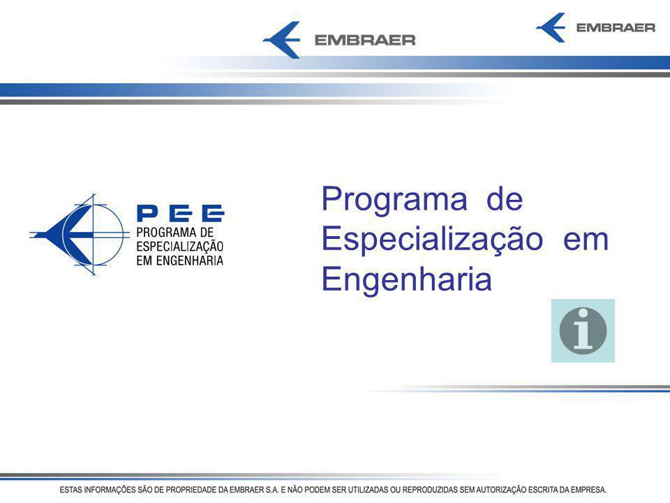 Programa de Especialização em Engenharia
