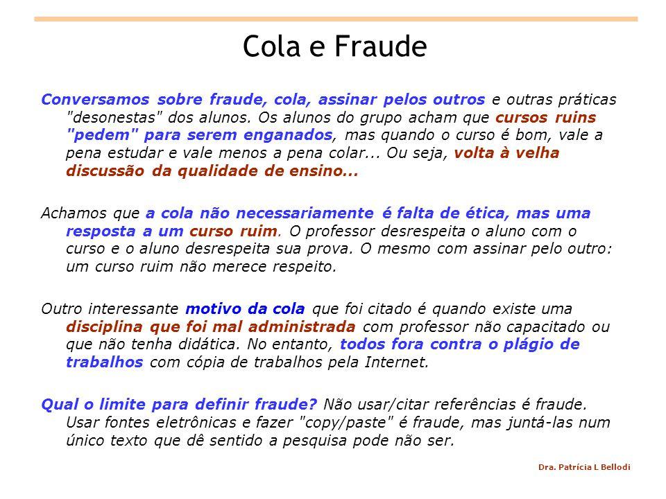 Cola e Fraude