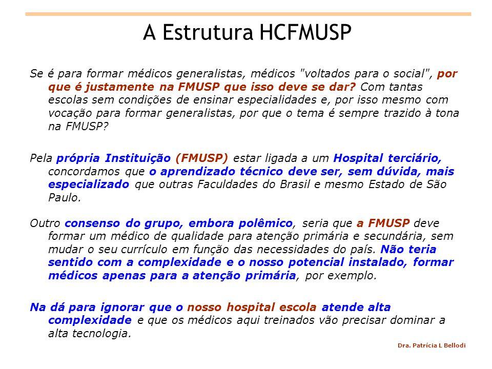 A Estrutura HCFMUSP