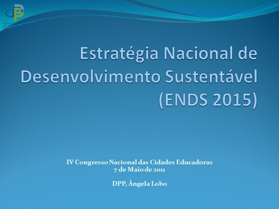 Estratégia Nacional de Desenvolvimento Sustentável (ENDS 2015)