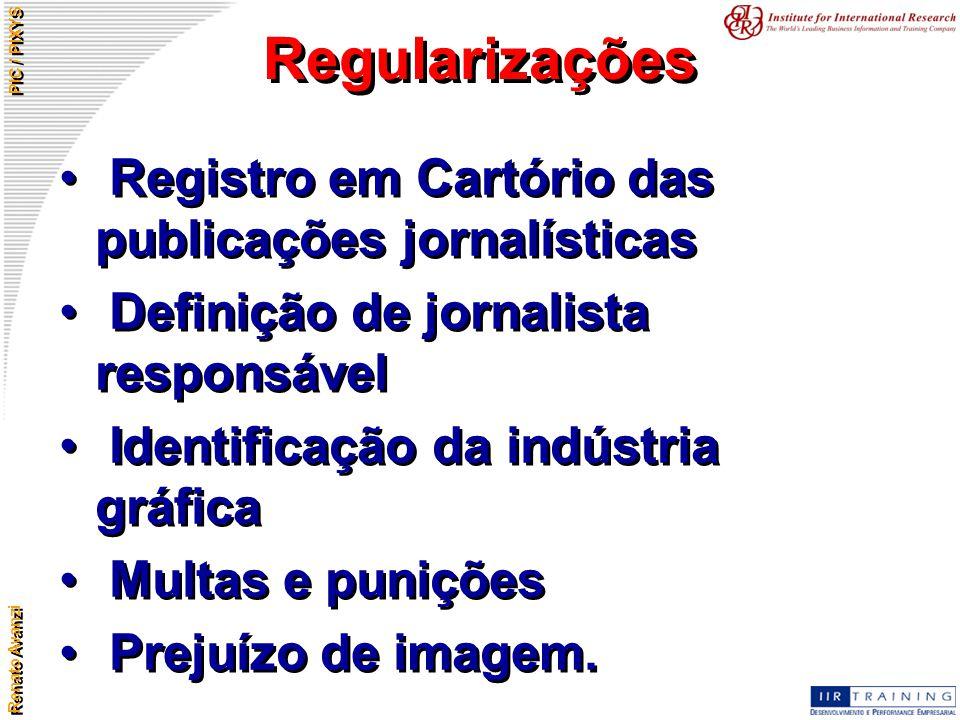 Regularizações Registro em Cartório das publicações jornalísticas
