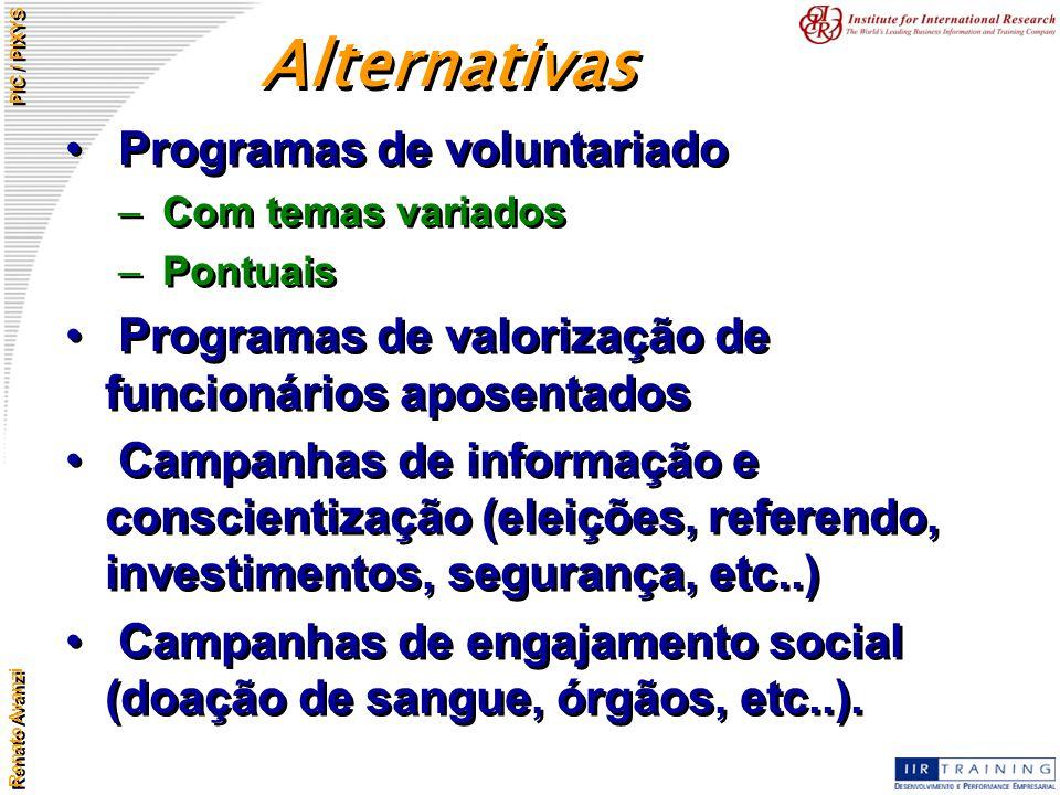 Alternativas Programas de voluntariado