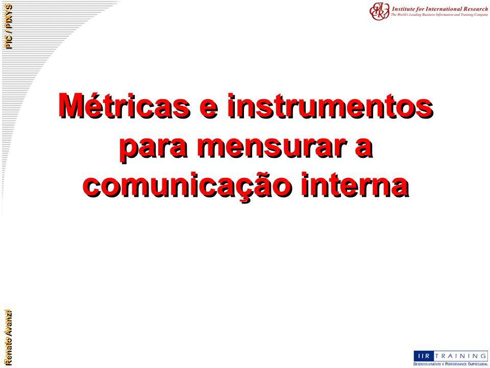 Métricas e instrumentos para mensurar a comunicação interna