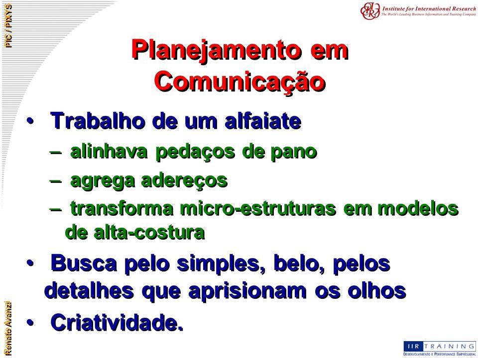 Planejamento em Comunicação