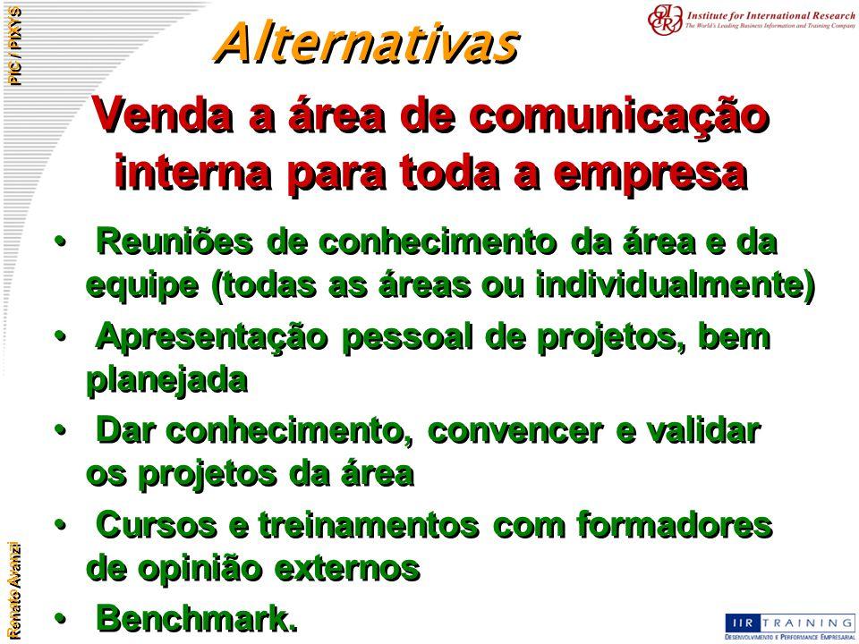 Venda a área de comunicação interna para toda a empresa