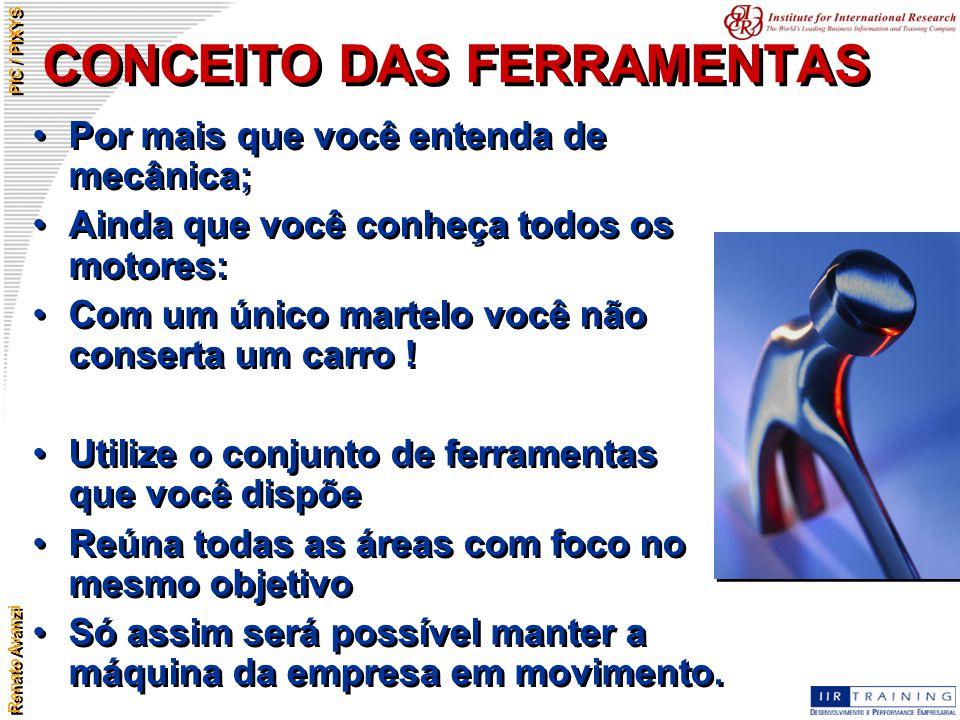 CONCEITO DAS FERRAMENTAS