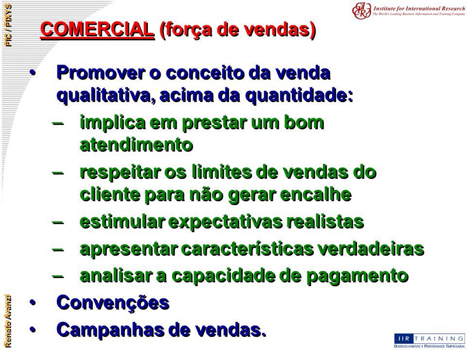 COMERCIAL (força de vendas)