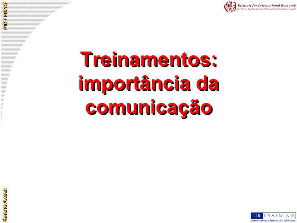 Treinamentos: importância da comunicação