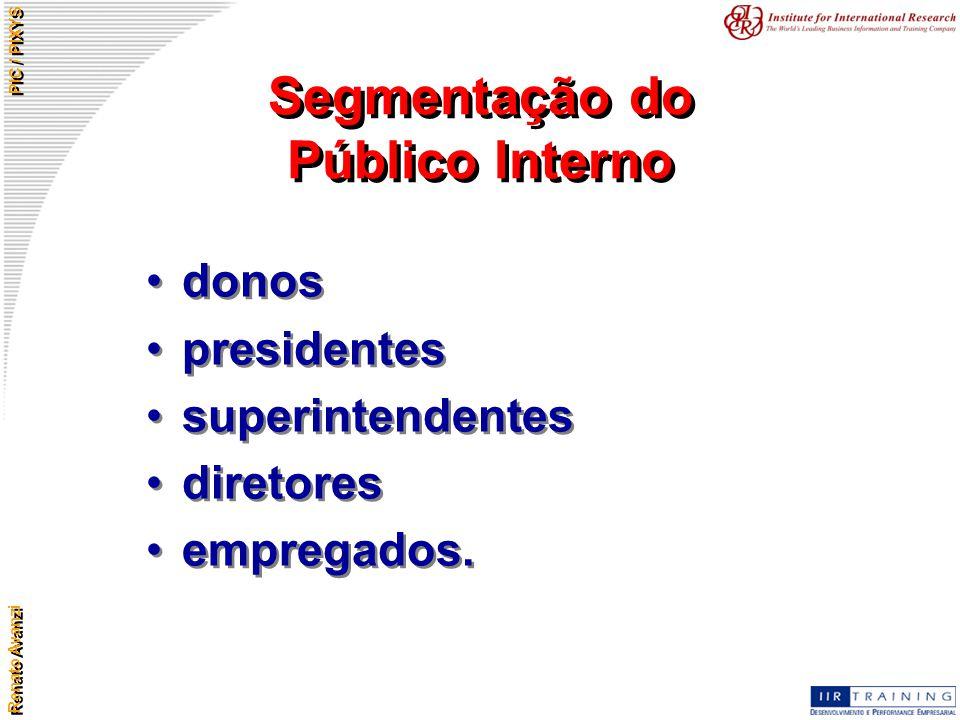 Segmentação do Público Interno