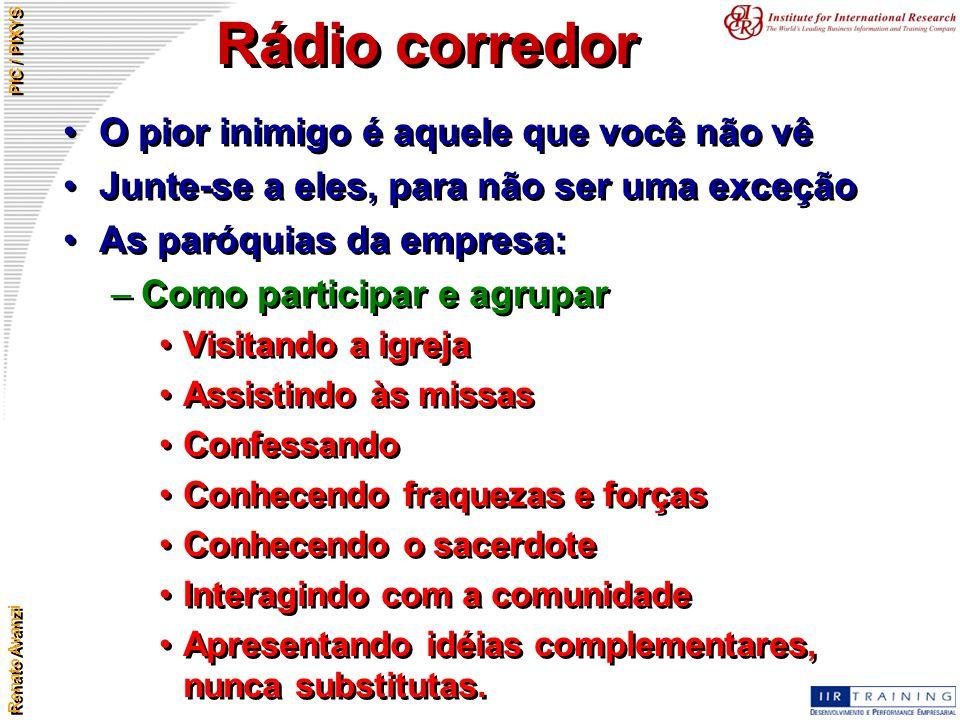 Rádio corredor O pior inimigo é aquele que você não vê