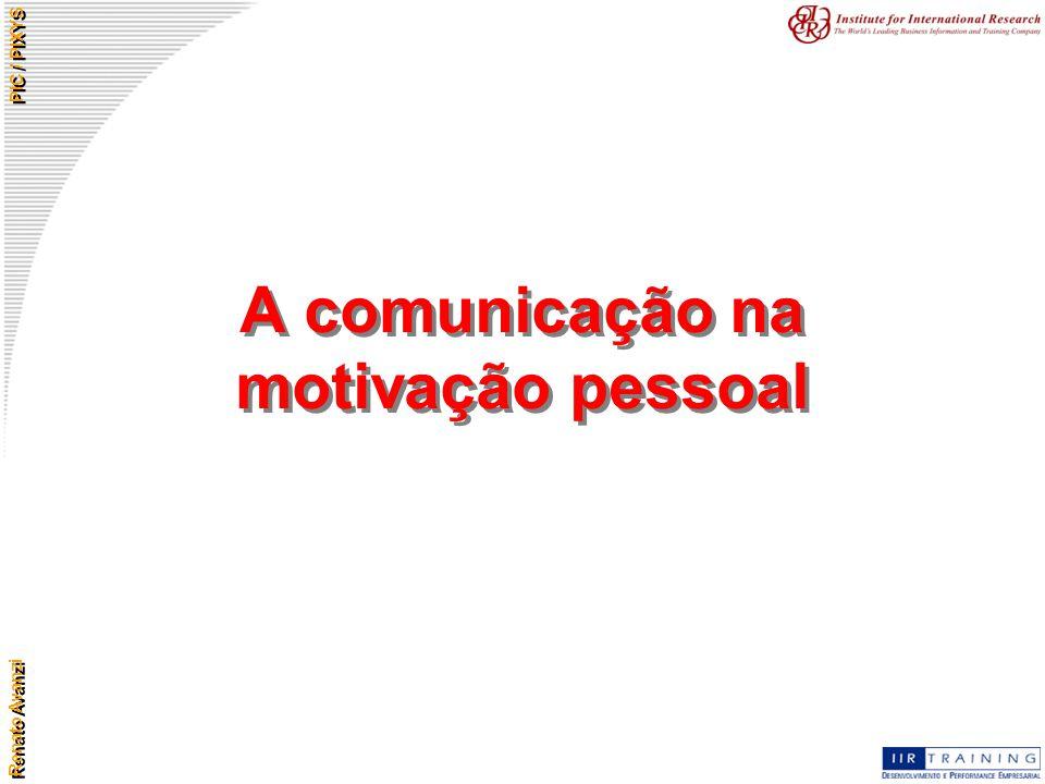 A comunicação na motivação pessoal