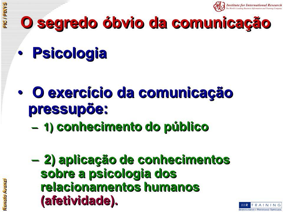 O segredo óbvio da comunicação